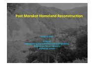 Post Morakot Homeland Reconstruction with sustainable development