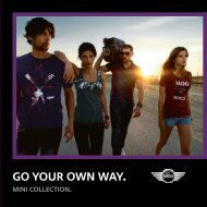 GO YOUR OWN WAY. - MINI.com.au