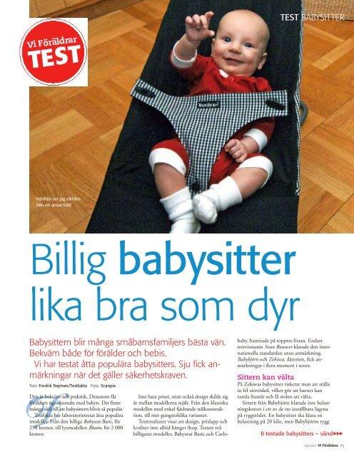 Babysitter Billig