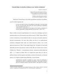 Gonzalo Rojas: las huellas cristianas en un 'místico ... - ALALITE.org