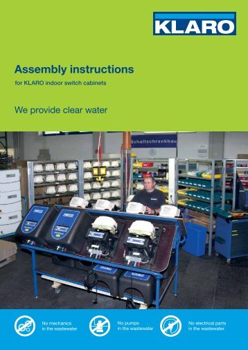 Assembly instructions - KLARO GmbH