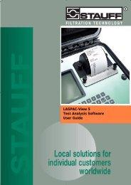 Manual LasPaC II-View (PDF - 0,9 MB) - Stauff