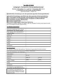 """Lehrgang A """"Fachkraft für Schimmelpilzsanierung"""" - Bundesverband ..."""