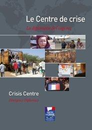 Le Centre de crise - France-Diplomatie-Ministère des Affaires ...