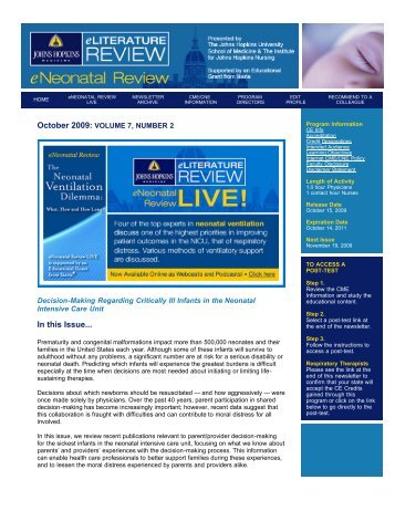View as PDF - Hopkins CME Blog