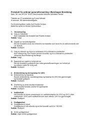 Protokoll fra ordinær generalforsamling i Myrahagen ... - Herborvi.no