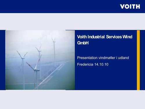 Voith Industrial Services Wind GmbH
