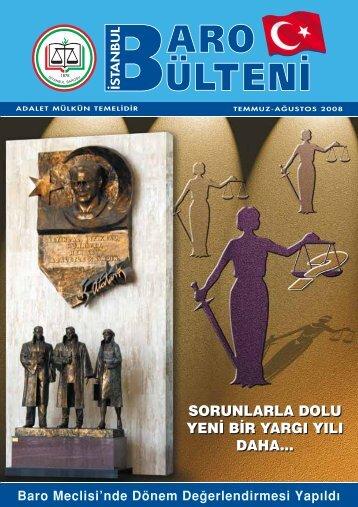 sorunlarla dolu yen‹ b‹ - İstanbul Barosu