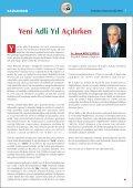 sorunlarla dolu yen‹ b‹ - İstanbul Barosu - Page 3