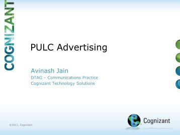PULC Advertising - Ideation by Avinash Jain (234458)