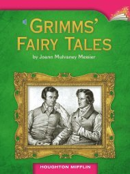 Lesson 5:Grimms' Fairy Tales