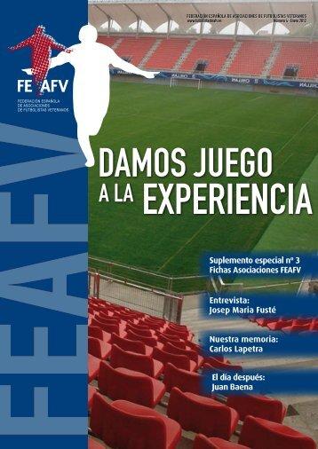 Enero 2012 Descargar revista - Federación Española de ...