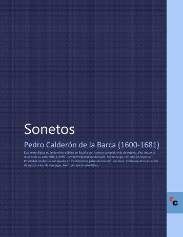 Sonetos - Descarga Ebooks