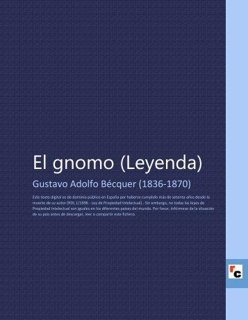 El gnomo (Leyenda) - Descarga Ebooks