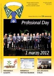 Colletti Verdi marzo 12 - Collegio Nazionale degli Agrotecnici