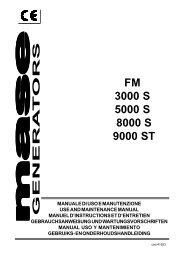 FM 3000 S 5000 S 8000 S 9000 ST