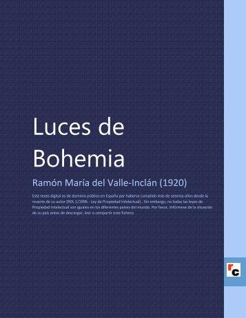 Luces de Bohemia - Descarga Ebooks