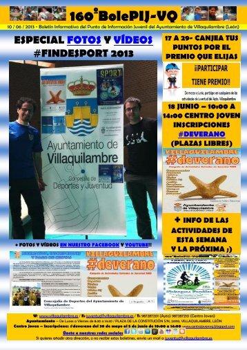 160º - 10/06/13 - especial fotos y vídeos #finde sport 2013