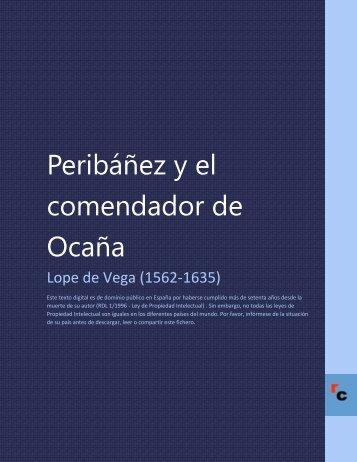 Peribáñez y el comendador de Ocaña - Descarga Ebooks