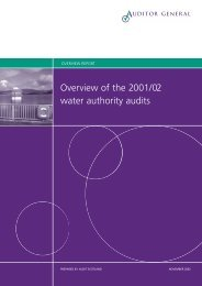 Overview of the 2001/02 water authority audits (PDF ... - Audit Scotland