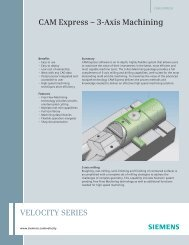 Brochure - CAM Express - 3 Axis Machining - Geometric Solutions