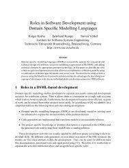 Roles in Software Development using Domain ... - DSM Forum