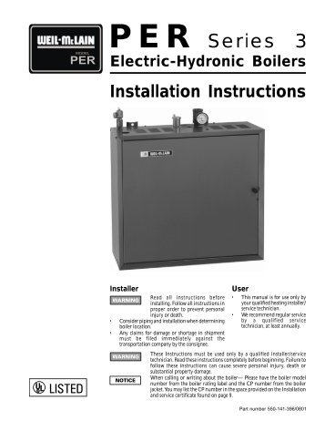 Contemporary Weil Mclain Electric Boiler Collection - Simple Wiring ...