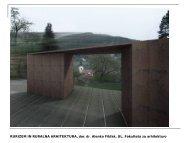 Rurizem in ruralna arhitektura - Fakulteta za arhitekturo - Univerza v ...
