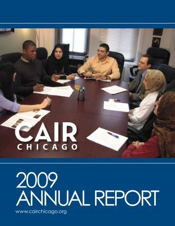 CAIR-Chicago Annual Report 2009