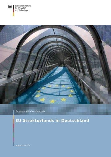 EU-Strukturfonds in Deutschland - BMWi