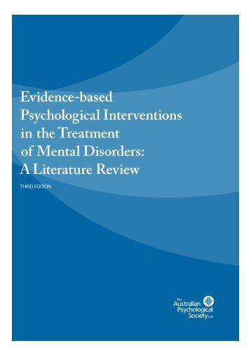 Evidence-Based-Psychological-Interventions