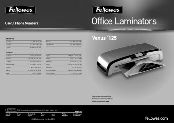 Office Laminators - Fellowes