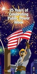 25 Years of Celebrating Public Power Week