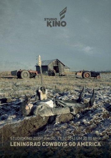 LENINGRAD COWBOYS GO AMERICA - Studiokino