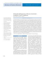 Molecular Pathogenesis of Mucosa-Associated Lymphoid ... - caded