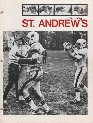 Saint Andrew's School Archive - St. Andrew's School