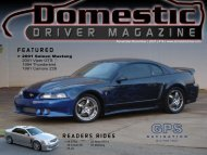 MODIFICATIONS - Domestic Driver Magazine