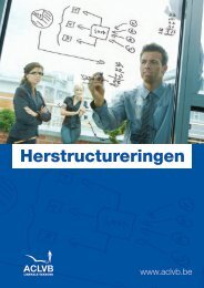 Herstructureringen - Aclvb