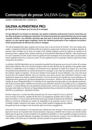 SALEWA alpineXtrem pro (PDF)