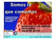 Nutrición 2009-10 - IES Mar de Aragón