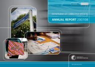 Department of Corrective Services' Annual Report 2007/08