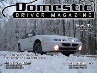 EVENT COVERAGE - Domestic Driver Magazine