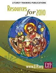 Ministry - Liturgy Training Publications