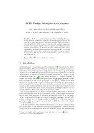 ACPI: Design Principles and Concerns