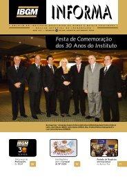 Festa de Comemoração dos 30 Anos do Instituto - InfoJoia