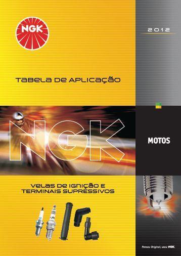 Tabela Motos 2012 - NGK
