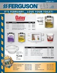 IT'S FEBRUARY... LOVE YOUR TOILET! - Ferguson Enterprises, Inc.