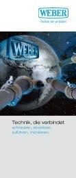 Technik, die verbindet - Weber Schraubautomaten