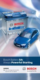 Bosch Battery S4: Always Powerful Starting