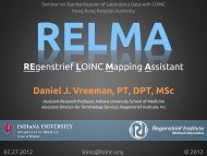 Introduction to RELMA